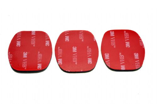 3x 3M VHB Rplacement Adhesive Sticker for GoPro Flat Surface Mount